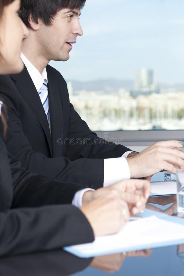 Consultazione con i Consiglieri di imposta immagini stock
