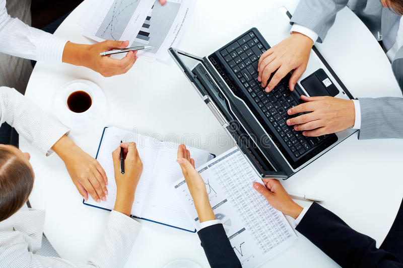 Download Consulting stock photo. Image of interaction, computer - 15407462