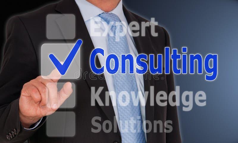 consulting стоковая фотография rf