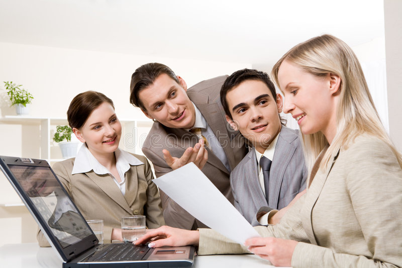 Download Consulting stock photo. Image of interaction, female, confident - 9136354