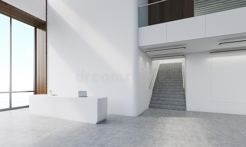 Consulting Company Hallway Stock Illustration