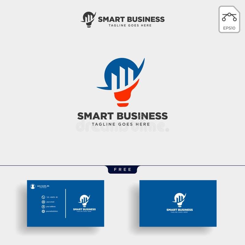 Consulting, consult graphic statistic logo template vector illustration. Consulting, consult graphic statistic logo template with business card vector vector illustration