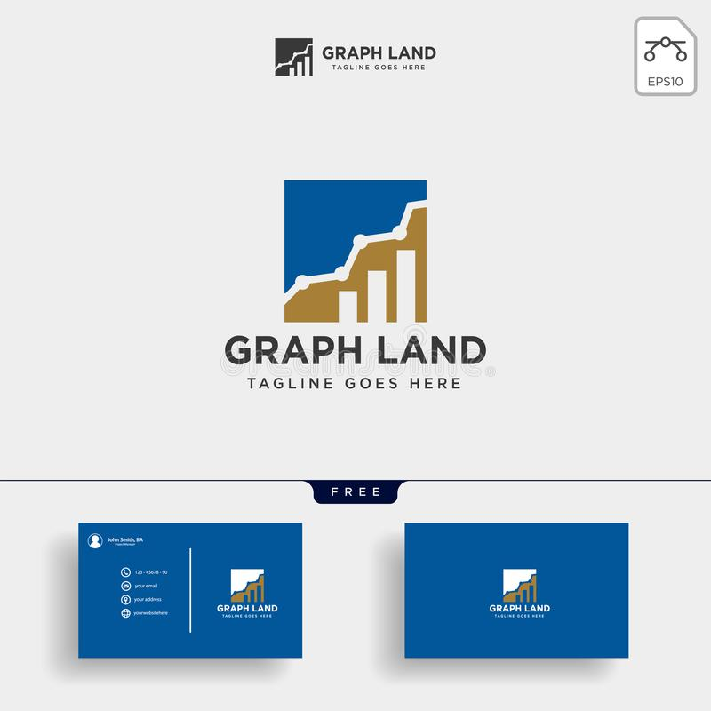 consulting, consult graphic statistic logo template vector illustration stock illustration