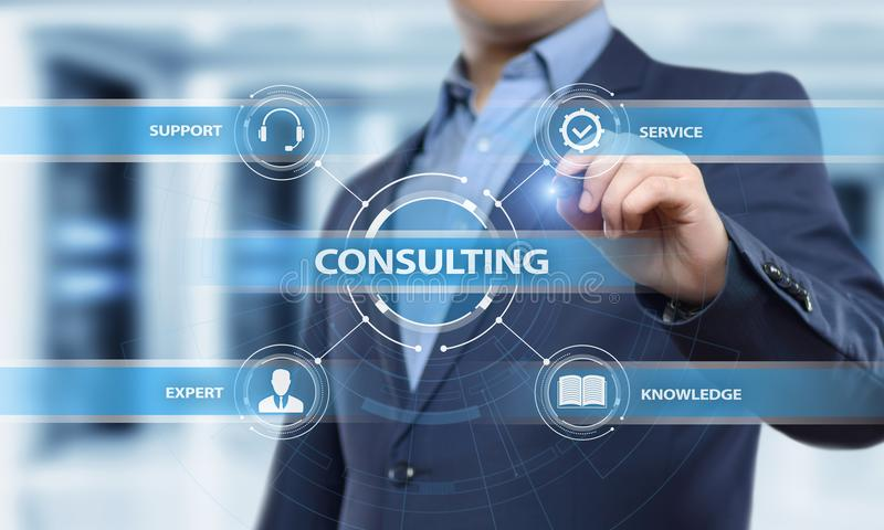 Consulting Expert Advice Support Service Business concept stock photos