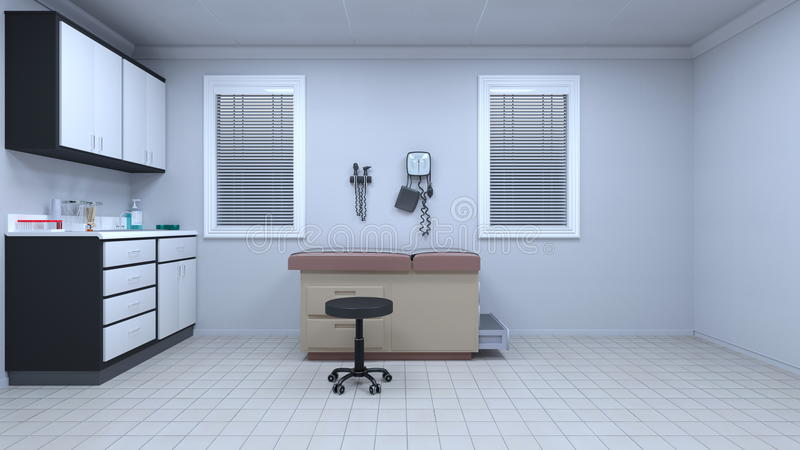 Consulting room royalty free illustration
