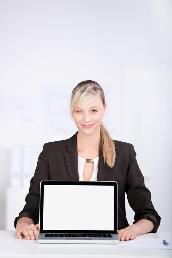 Consultor sonriente fotografía de archivo