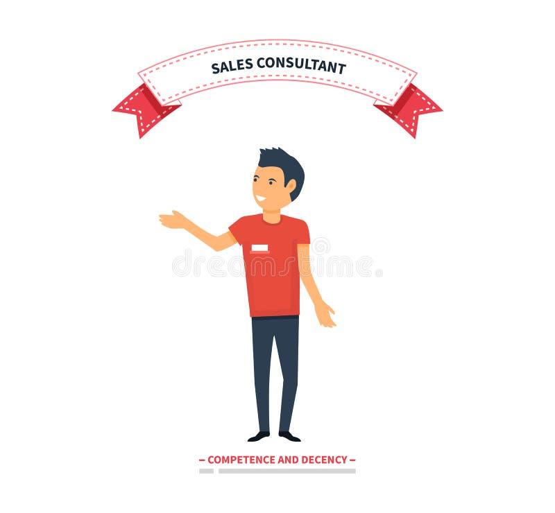 Consultor Trainer de las ventas libre illustration