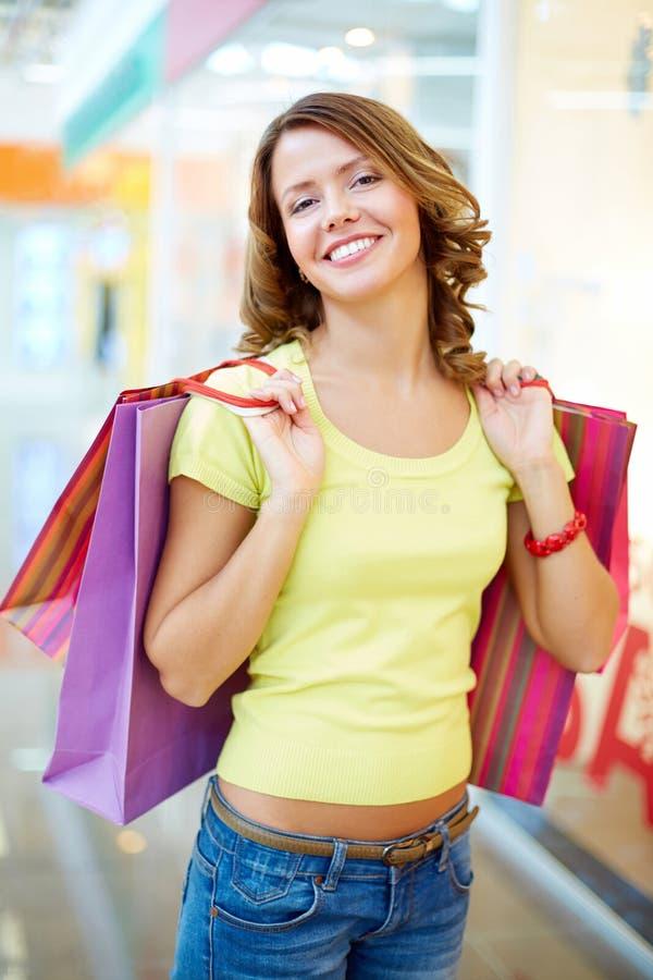 Consumatore Allegro Fotografie Stock