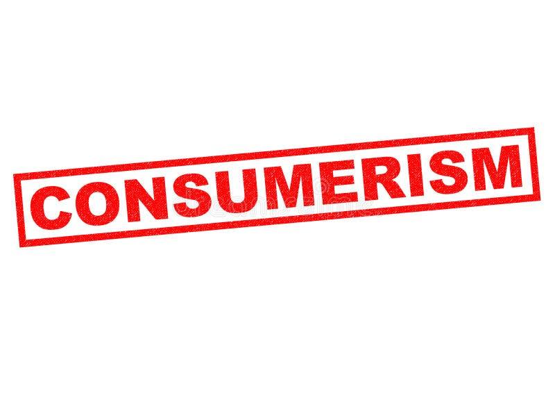 consumentisme royalty-vrije illustratie