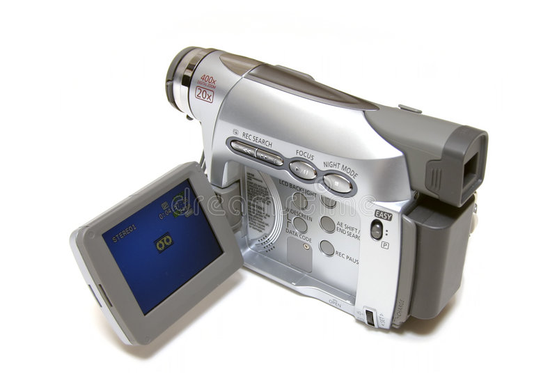 Consumer Camcorder stock images