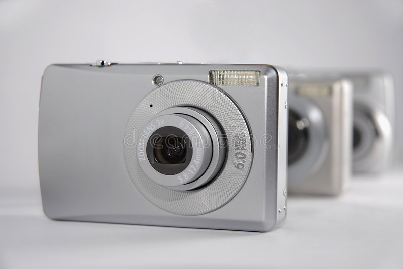 Consumer electronics: Cameras royalty free stock images