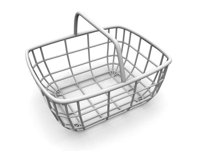Consumer's basket stock illustration