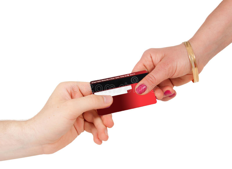 Download Consumerism Buying And Paying With Credit Card Stock Image - Image: 20671193