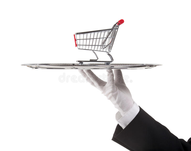 Download Consumerism concept stock image. Image of cart, person - 27431521