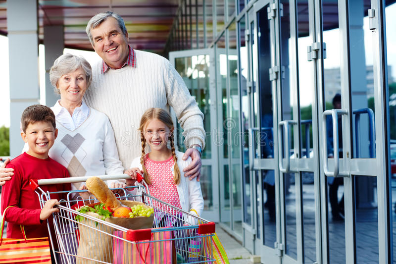 Consumers Outdoor Stock Images