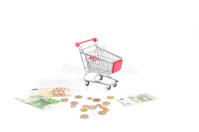 Consumi il costo fotografia stock