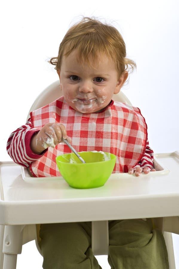 Download Consumición del niño joven imagen de archivo. Imagen de adorable - 7279583