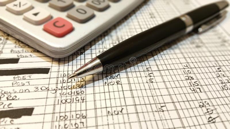 contabilidade fotografia de stock