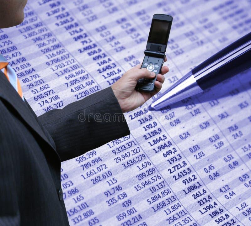 Contabilidade e tecnologia imagem de stock royalty free