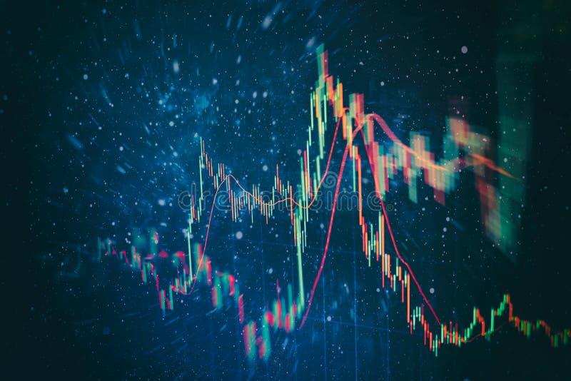 Contabilit? dell'analisi dei grafici del riassunto di profitto Il business plan alla riunione ed analizzare i numeri finanziari p fotografie stock