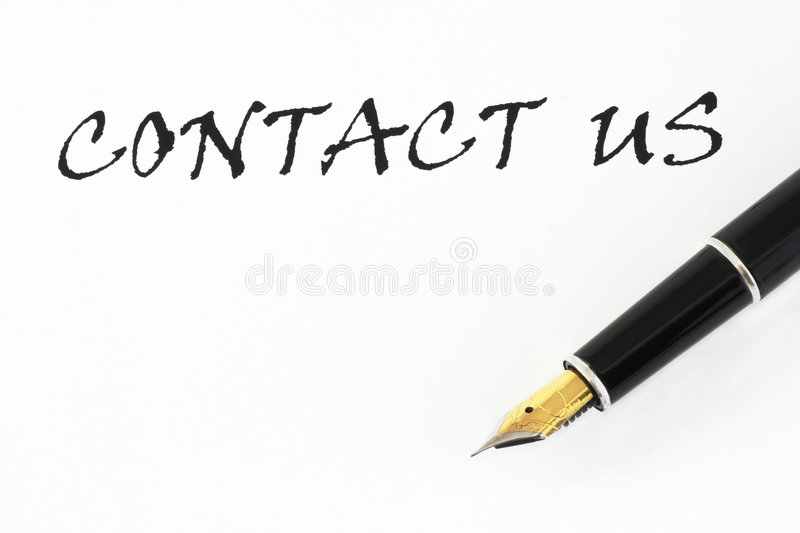 Download Contact stock photo. Image of silver, gold, sign, business - 9223490