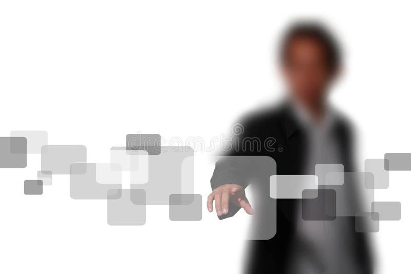 Contact en fonction photo libre de droits