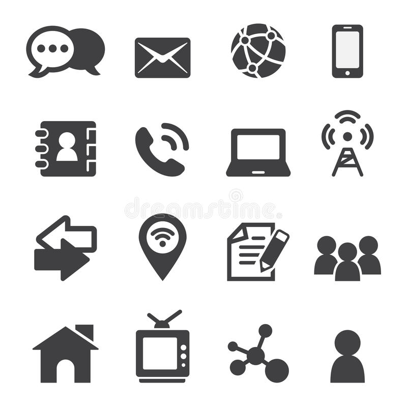 Contact icon. Web icon illustration design vector sign symbol stock illustration