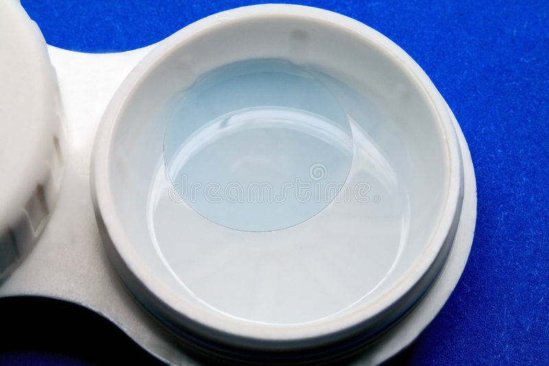 Download Contact lens in a solution stock photo. Image of myopia - 8630130