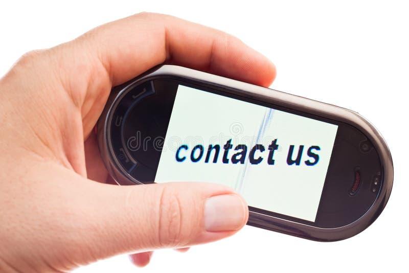 Contact us stock photos