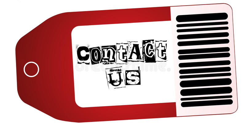 Download Contact us stock illustration. Illustration of graphic - 20391213