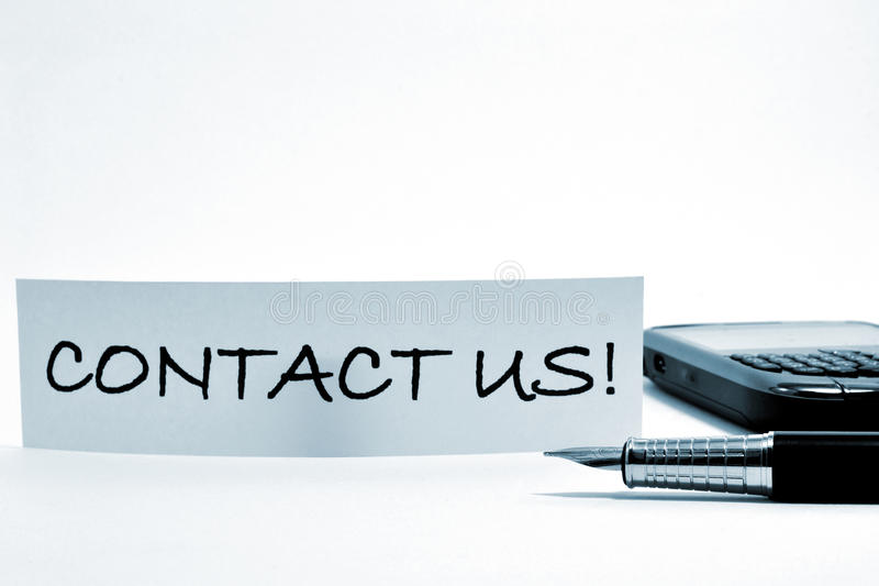 Download Contact us ! stock photo. Image of line, business, global - 23764550