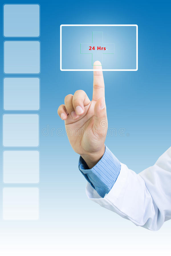 Contact Us 24 Hrs. Contact Us 24Hrs. Is Concepts And Ideas For Healthcare And Medical Service stock images