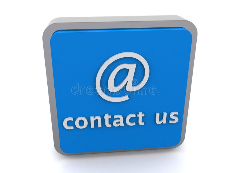 Download Contact us button stock illustration. Illustration of internet - 18988687