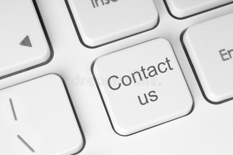 Contact us button royalty free stock photo