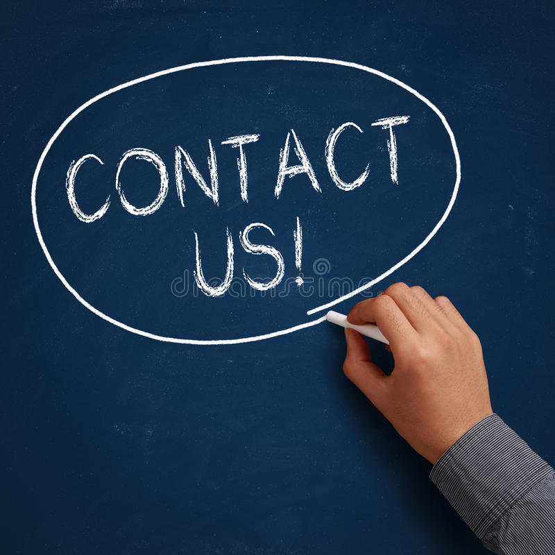 Contact Us! royalty free stock images