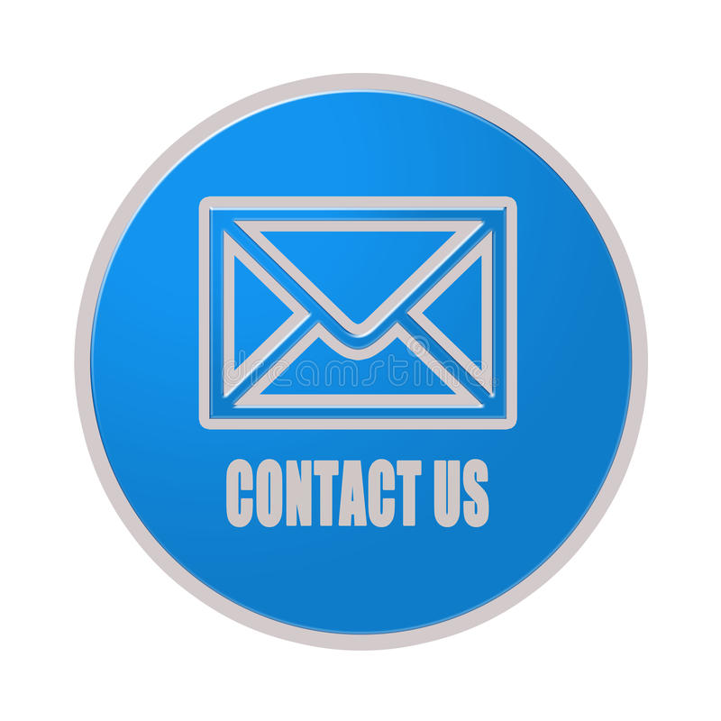 Contact Us: Contact Us Icon Royalty Free Stock Photo
