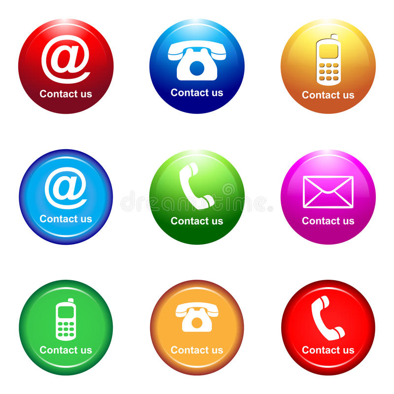 Contact Us Stock Images