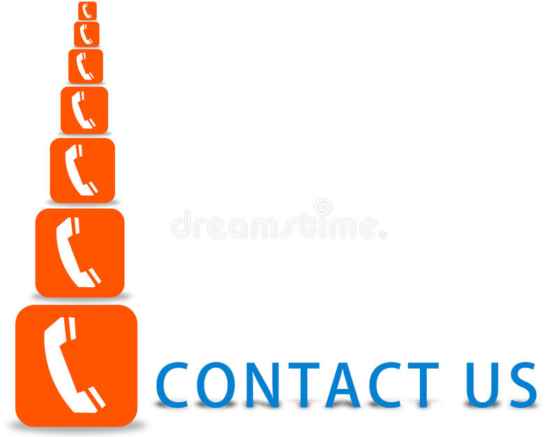 Download Contact us sign stock illustration. Image of connection - 23842224