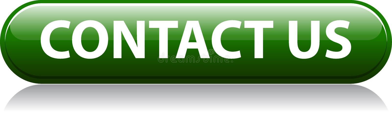 Contacte-nos botão verde ilustração do vetor