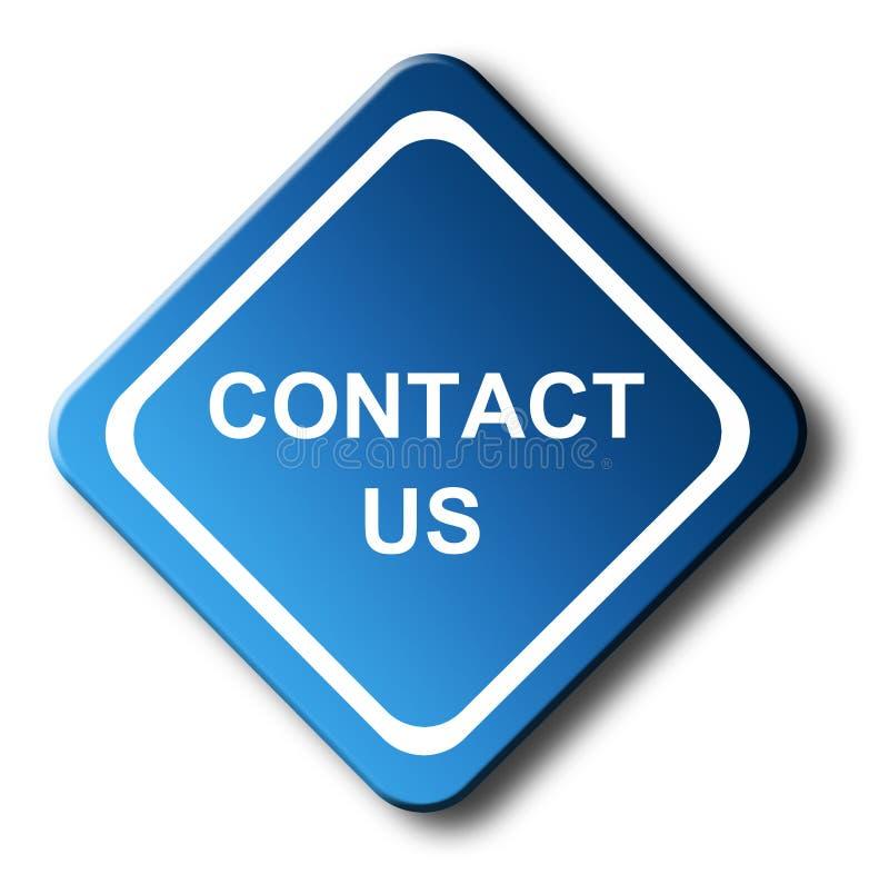 Download Contacteer ons stock illustratie. Illustratie bestaande uit concept - 10781306