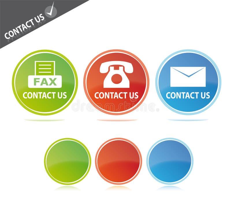 Contacteer ons royalty-vrije illustratie