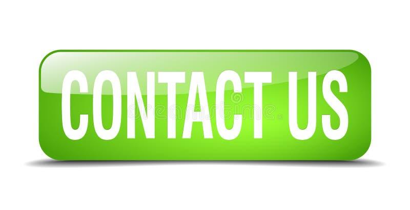 Contacteer ons knoop royalty-vrije illustratie