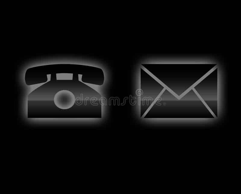 Contacten vector illustratie