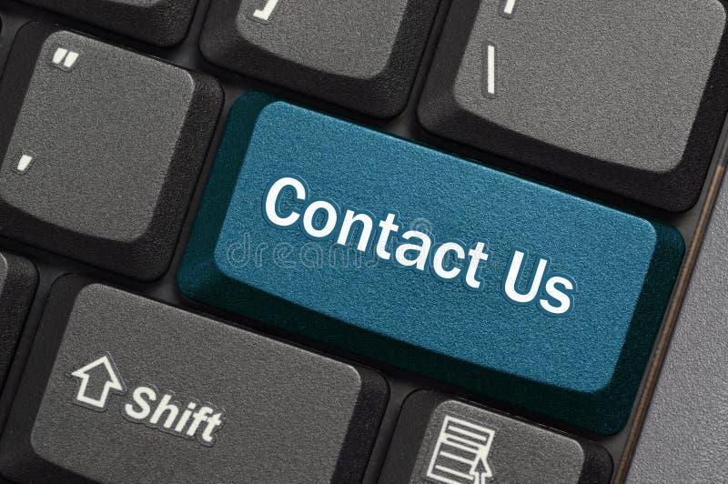 Contactez-nous images libres de droits