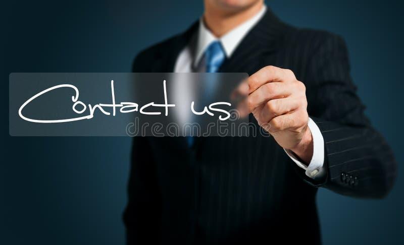 Contactez-nous photos stock