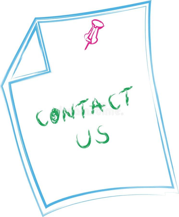 Contactez-nous images stock