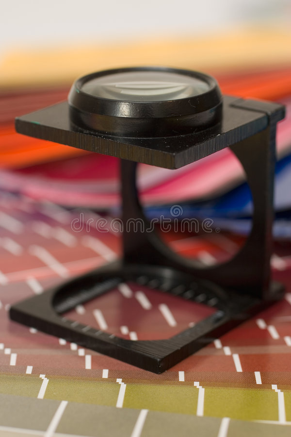Contador de la cuerda de rosca foto de archivo