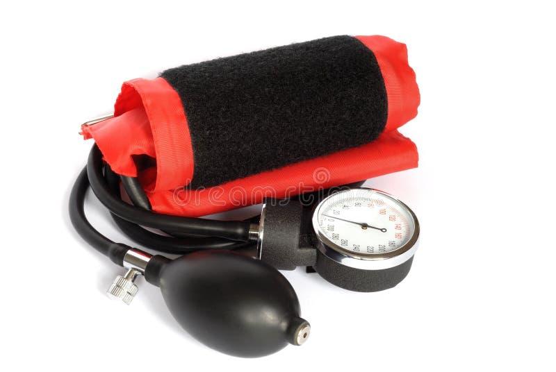 Contador de la presión arterial fotos de archivo libres de regalías