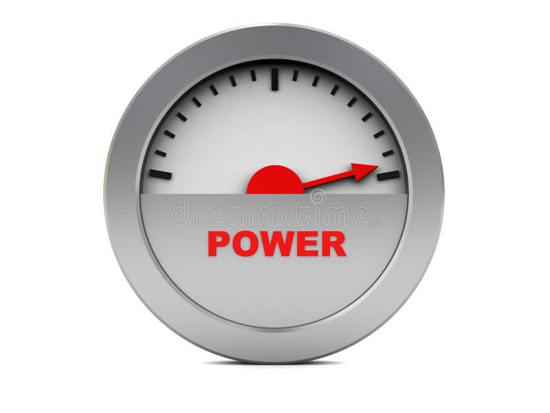 Contador de potencia libre illustration