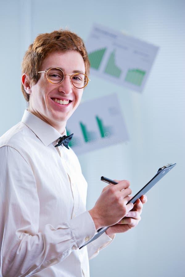 Contador de sorriso foto de stock royalty free